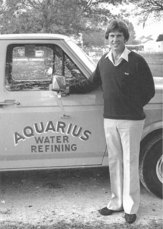 Joe Gaskill founder of Aquarius Water Refining in the Tampa area since 1975